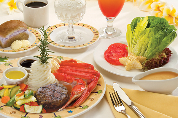 3-Course Crab and Steak Dinner on Star