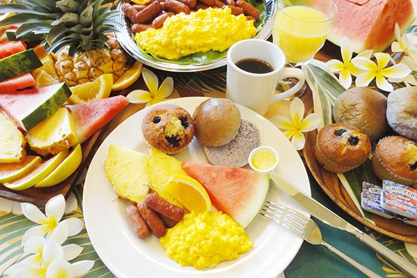 Hot Breakfast Buffet on Early Bird Whale Watch